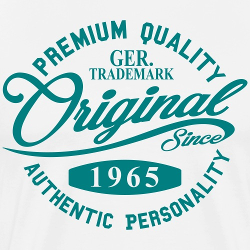 Original Since 1965 Handwriting Premium Quality - Männer Premium T-Shirt