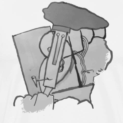 Faluchard par picasso - T-shirt Premium Homme