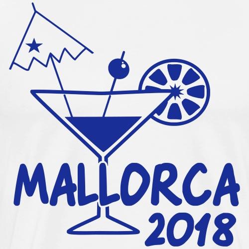 Mallorca Malle Cocktail Saufen Trinken Geschenk - Männer Premium T-Shirt