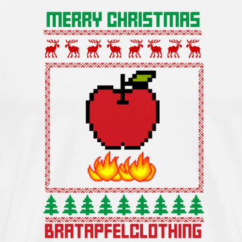Bratapfel Christmas - Männer Premium T-Shirt