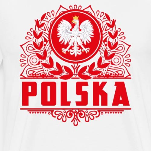 "Polska T-Shirt ""Polnischer Alder"" - Männer Premium T-Shirt"