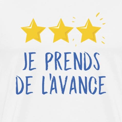 Champions du monde : je prends de l'avance ! - T-shirt Premium Homme