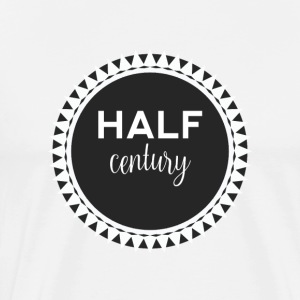 50th birthday: Half Century - Men's Premium T-Shirt
