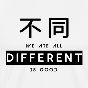Different is good - Men's Premium T-Shirt