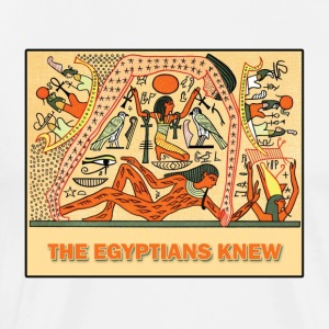 THE EGYPTIANS KNEW - Men's Premium T-Shirt