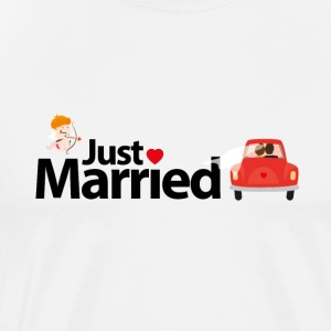 Just Married - Mannen Premium T-shirt