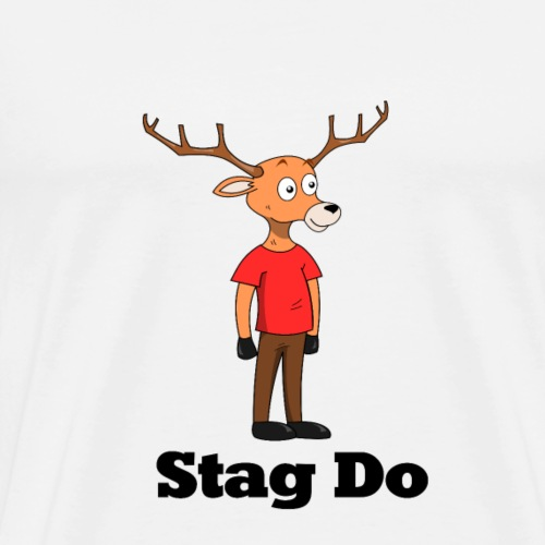 Stag So - Men's Premium T-Shirt