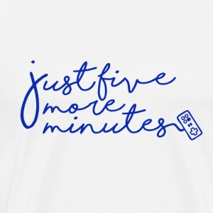 Gamer - Just 5 more minutes - Männer Premium T-Shirt