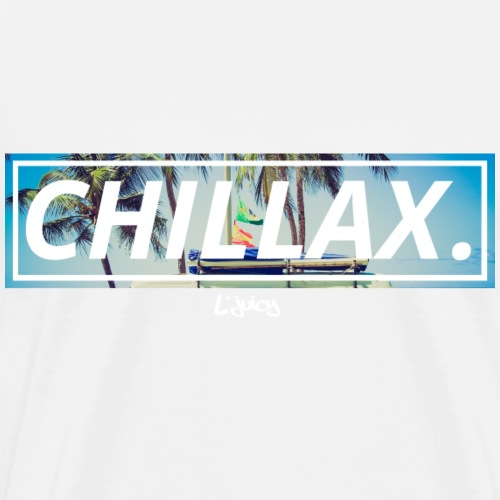 CHILLAX - L'juicy - Männer Premium T-Shirt