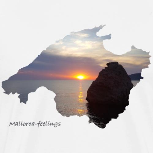 Mallorca-feelings sundown - Männer Premium T-Shirt