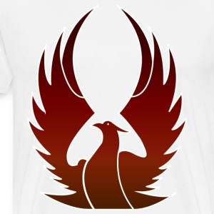 Phenix on fire - Men's Premium T-Shirt