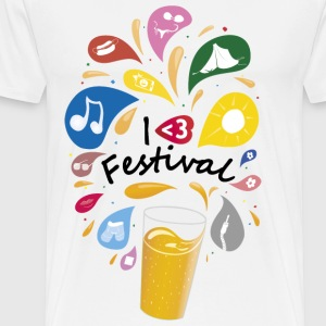 I Love Festival - Men's Premium T-Shirt