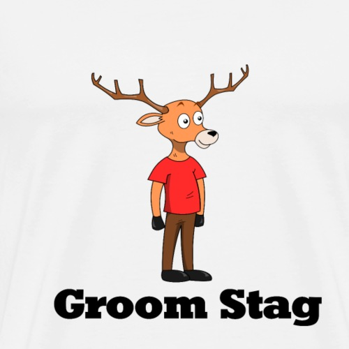 Groom Stag - Men's Premium T-Shirt