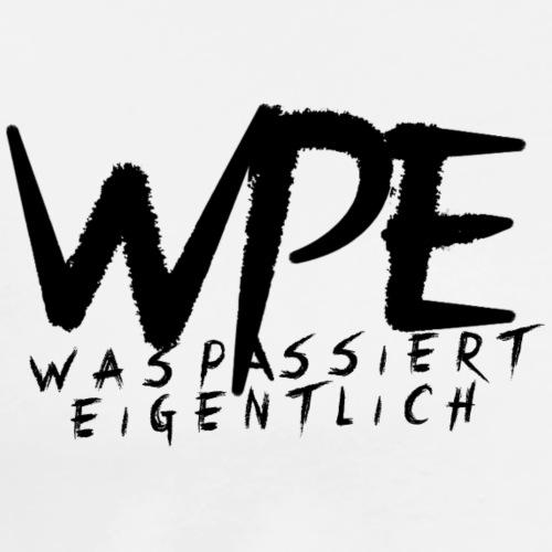 WPE weiß - Männer Premium T-Shirt