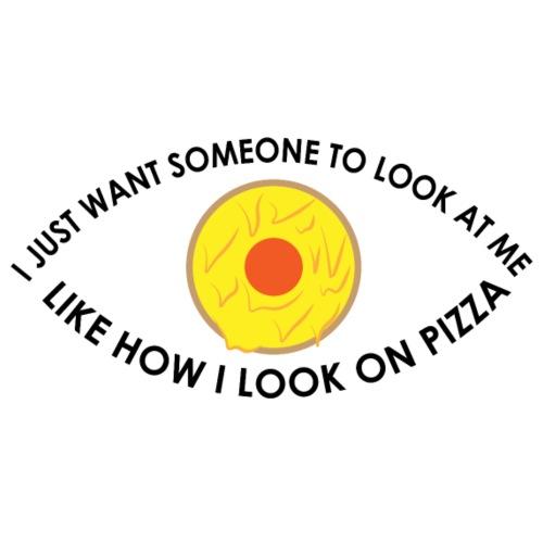 Look at that Pizza - Männer Premium T-Shirt
