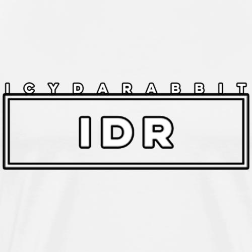 IDR B+W Logo - Men's Premium T-Shirt