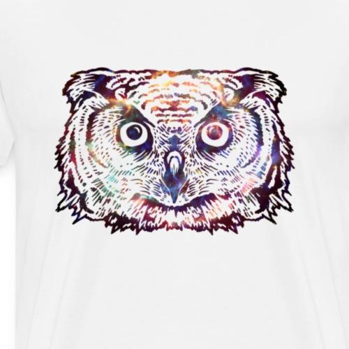 Space Owl - Männer Premium T-Shirt