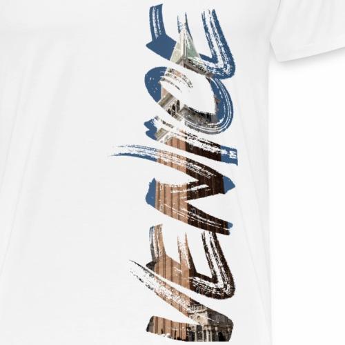 Venice Lyric / Venice lettering - Men's Premium T-Shirt