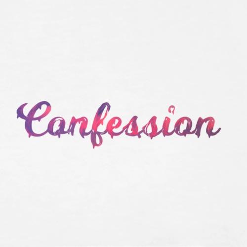 confessione Logo - Maglietta Premium da uomo