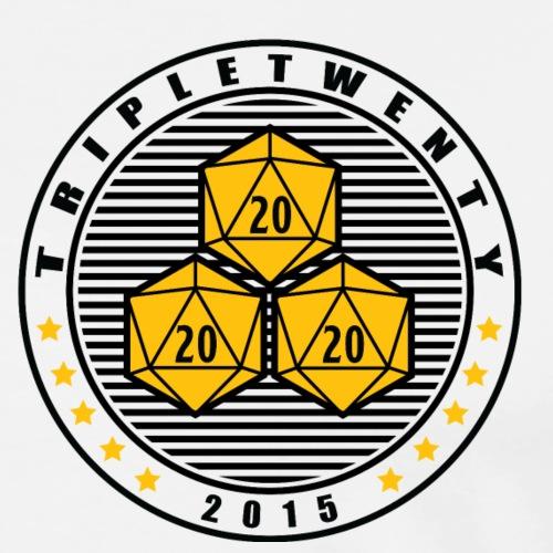 TripleTwenty - Navy Light - Männer Premium T-Shirt