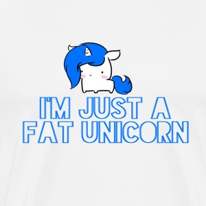 Unicorn - Fat licorne - T-shirt Premium Homme