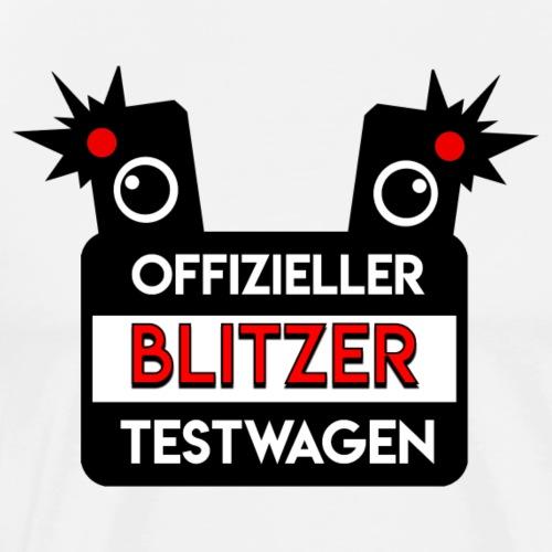 Blitzer-Testwagen - Männer Premium T-Shirt
