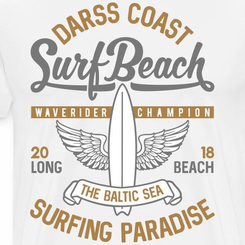 OSTSEE - Cooles Darss Surfer Geschenke Surf Shirts - Männer Premium T-Shirt