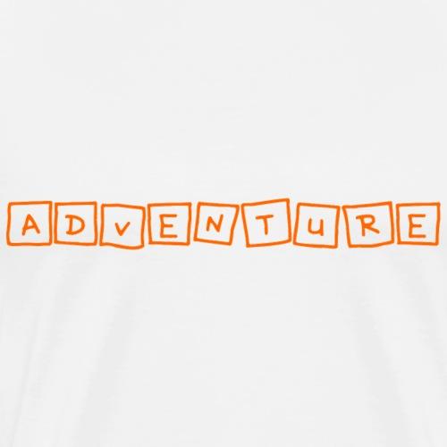 adventure - Männer Premium T-Shirt