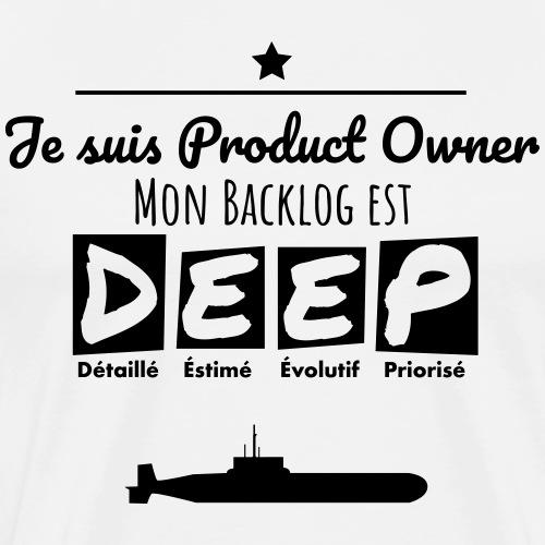 Mon Backlog est D.E.E.P. - T-shirt Premium Homme