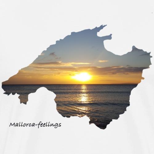 Mallorca-feelings sundown 2 - Männer Premium T-Shirt