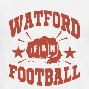 Watford Football Fan - Premium-T-shirt herr