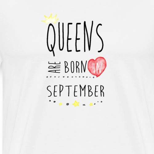 Queens september - Männer Premium T-Shirt