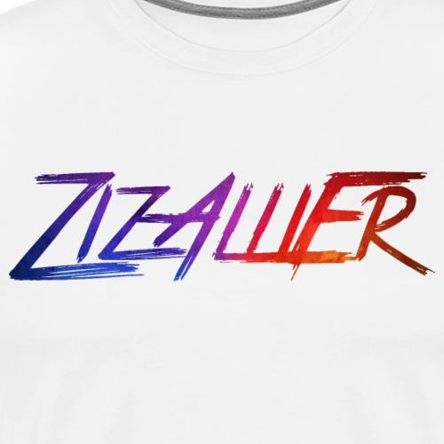 rainbow ZizAlliEr - Premium T-skjorte for menn
