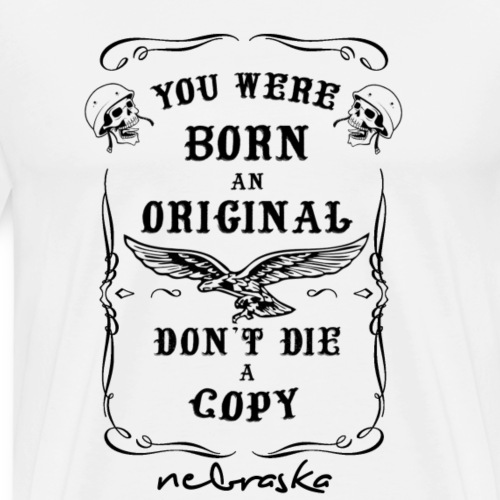 don't die a copy black - Maglietta Premium da uomo