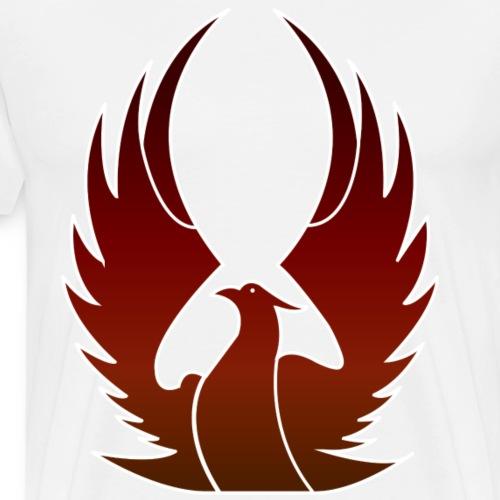 Phenix on fire - T-shirt Premium Homme