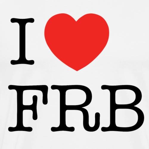 I Love FRB - Bestsellere - Herre premium T-shirt