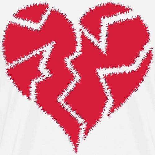 HeartBroken 2 <3 - Men's Premium T-Shirt