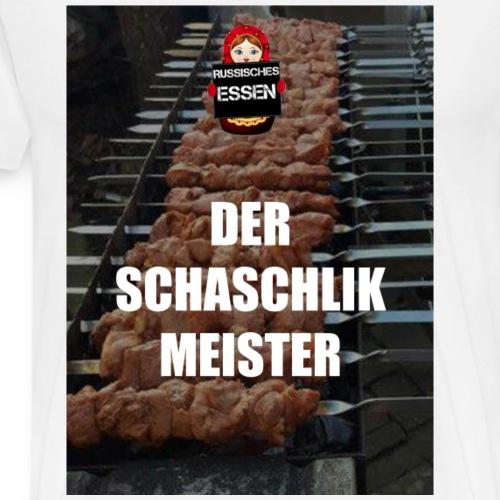 Der Schaschlik Meister - Männer Premium T-Shirt