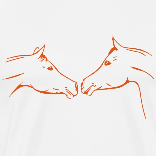 Araber - Pferde - Männer Premium T-Shirt