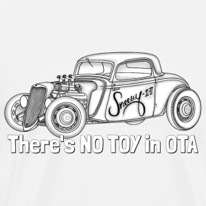 There's NO TOY in OTA (Int'l) - Premium-T-shirt herr