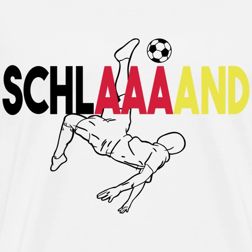 Schlaaand - Männer Premium T-Shirt
