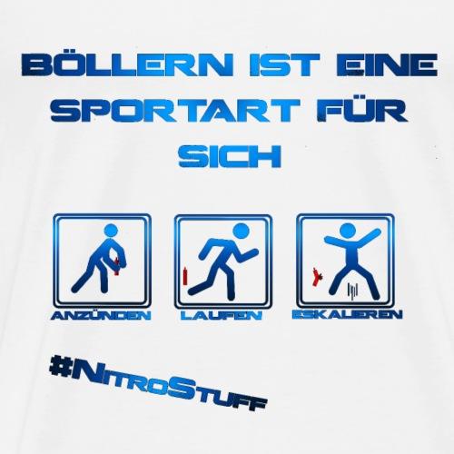 Böllern ist eine Sportart! - Männer Premium T-Shirt