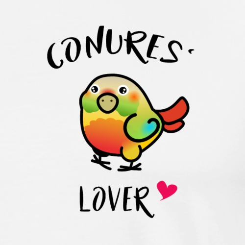 Conures' Lover: Ananas - T-shirt Premium Homme