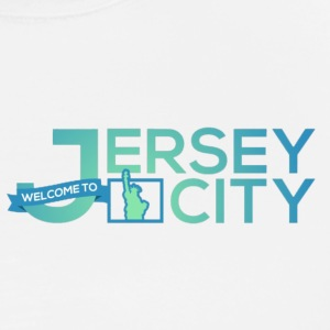 Jersey City Logo - Premium T-skjorte for menn