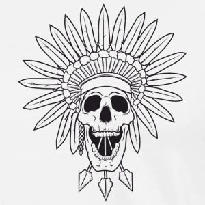 Triad Kings Apache Skull - Men's Premium T-Shirt