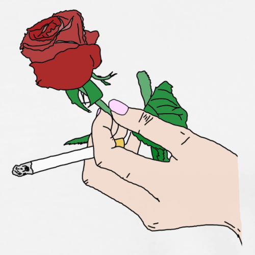 roses cigarettes - Männer Premium T-Shirt