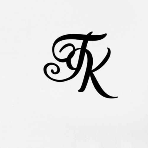 Camiseta blanca basica con logo TokyoXbrand - Camiseta premium hombre