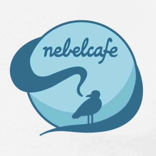 Nebelcafé Logo - Männer Premium T-Shirt