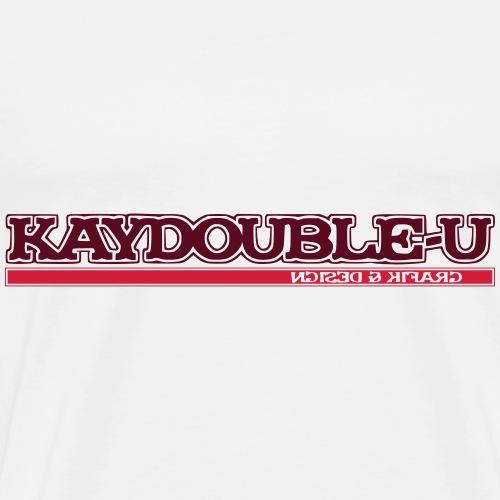 KAYDOUBLE U Layout - Männer Premium T-Shirt