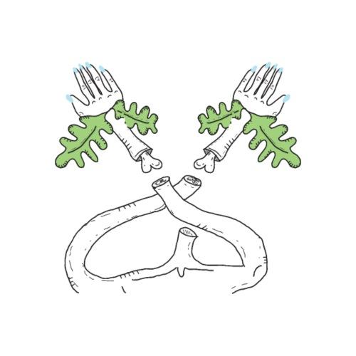 Handen in de lucht - Mannen Premium T-shirt